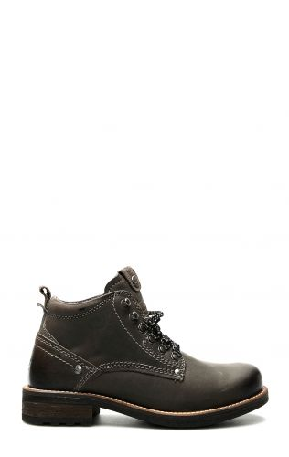 Wrangler Hill Peak ankle boot with laces in gray
