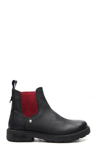 Stivaletto Wrangler Buddy in nero e burgundy