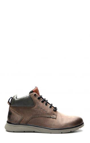 Wrangler Deer Mid Boot avec des lacets en gris s