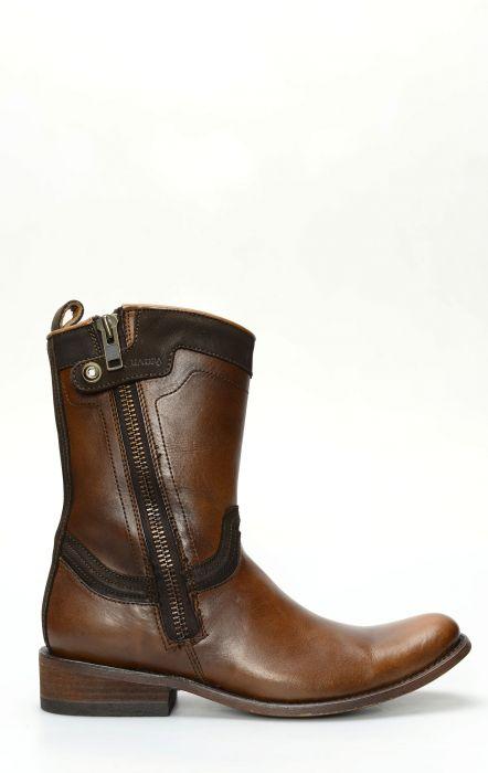 Short Boots by Cuadra Firenze Almendra