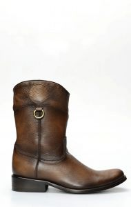 Cuadra bottine en cuir de cerf