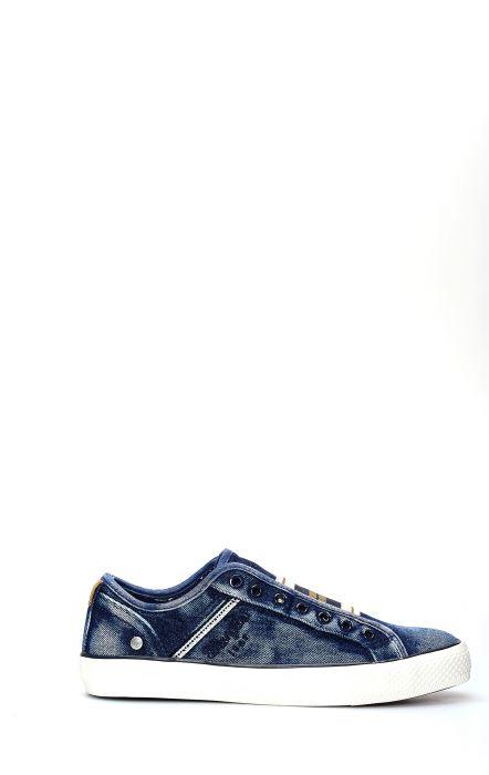 Wrangler Chaussure De Tennis Étoilé Slip Bleu