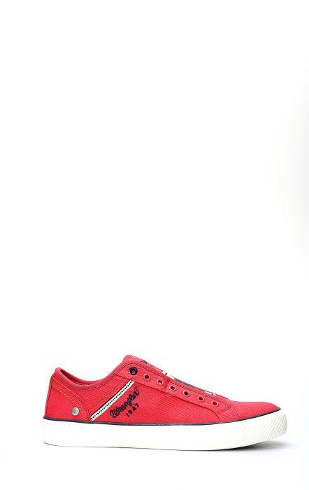 Wrangler Chaussure De Tennis Étoilé Slip Rouge