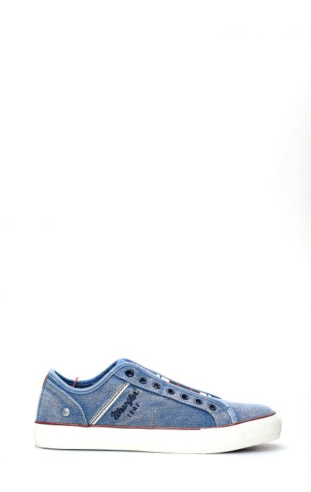 Wrangler Chaussure De Tennis Slip Étoilé Bleu Clair