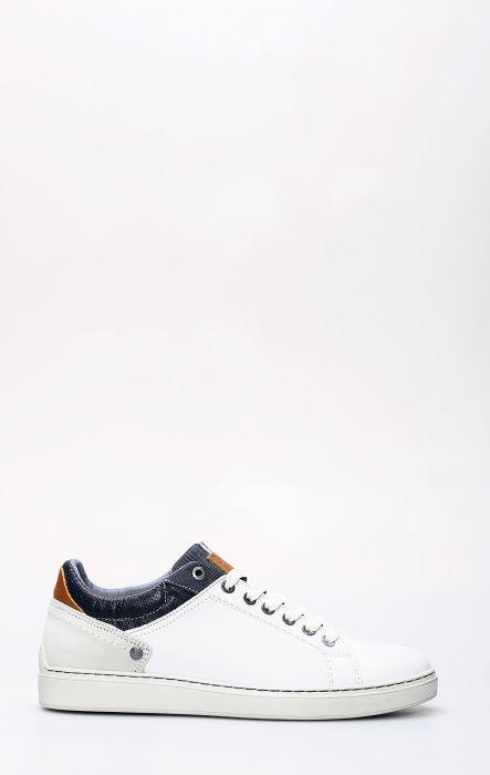 Wrangler Owen Derby Tennis Shoe White