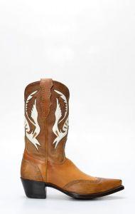 Stivale Western Classico color cuoio