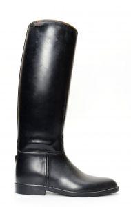 Black boots Cavallerizza English rubber