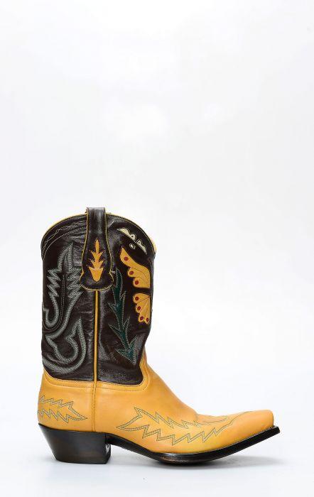 Stivali Texani Liberty Boots con inserto a farfalla