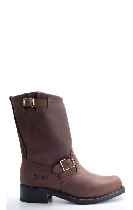 Brown walker boots