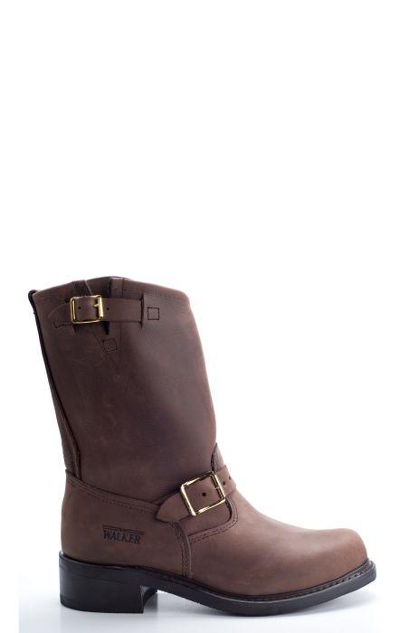 Brown walker boots