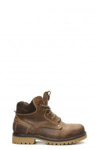 Wrangler Yuma Fur cheville avec lacets marron foncé