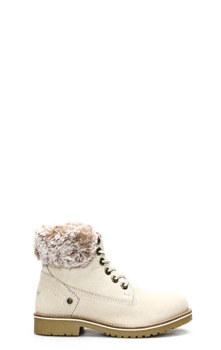 Wrangler Creek Alaska ankle boot cream