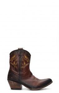 Black Stonewashed Liberty Boot