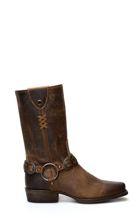 Dark brown Caborca boots