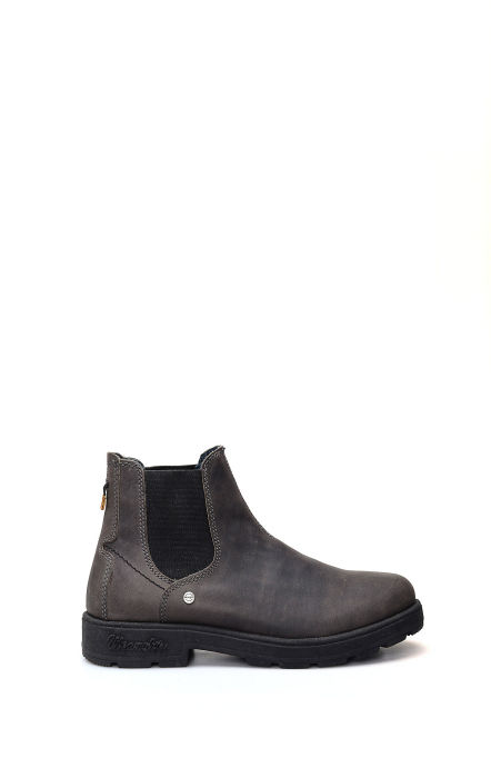 Buddy ankle boot in gray and black