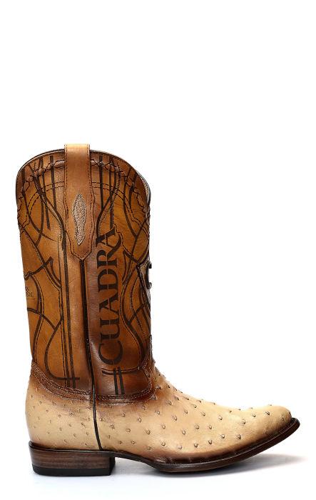 Cuadra Ostrich Shoulder Boot