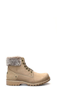 Alaska Ankle Boots Taupe