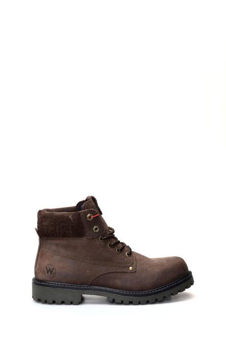 Chaussure à lacets Arch Marron foncé