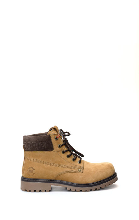 Arch Camel lace-up boot
