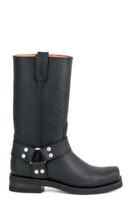 FRAY EN CRAZY OLD Boots Black