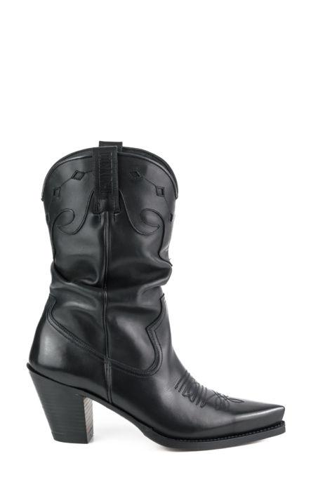 Texan Gautier Black Boot