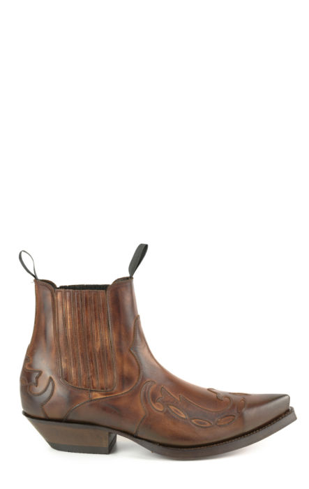 Mayura ankle boot cognac calf leather