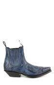 Mayura ankle boot blue calf