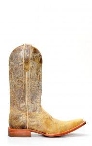Stivali Jalisco in pelle invecchiata con ricami