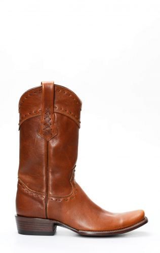 Cuadra honey boots with square toe