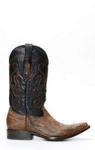 Stivali Cuadra uomo in pitone fango brown