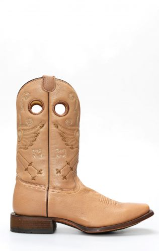 Light brown Cuadra work boots