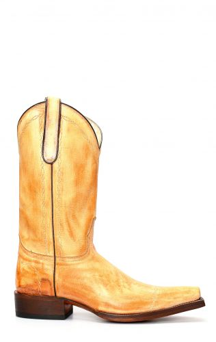 Jalisco boots with rustic finish
