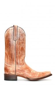 Jalisco boots with rustic brown finish
