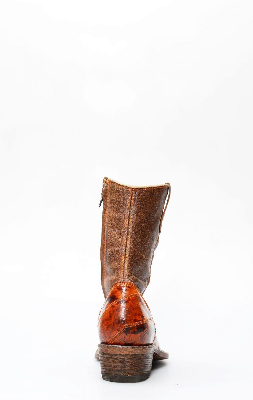 stivali anguilla rossa uomo