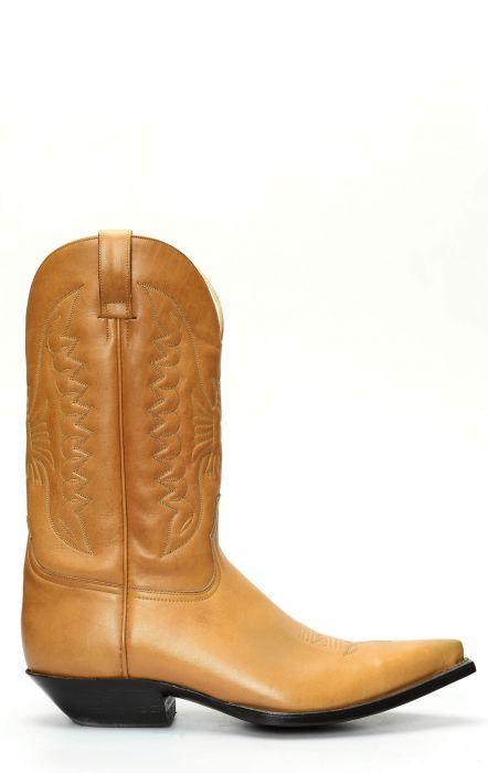 Bottes Jalisco classiques à bout brun clair