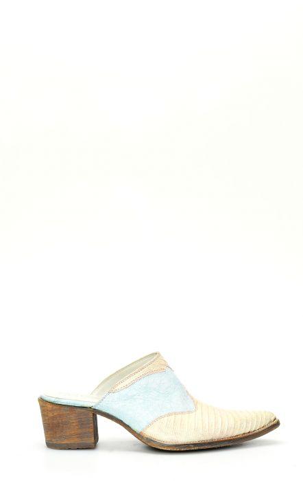 Bottes Frida by Cuadra en peau de lézard