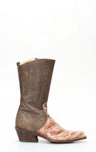 Stivali Frida by Cuadra in pelle di anguilla