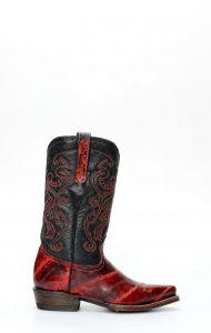 Cuadra Boots en cuir d'anguille