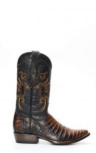 Cuadra boot en cuir de Caiman Belly