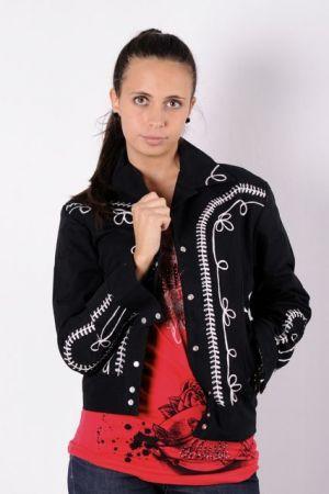Rockmount vestes style 1120 Broderie noire