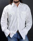 Chemise western blanche Rockmount