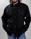 Camicia western Rockmount nera