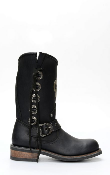 Liberty Black boots style 85114 black star