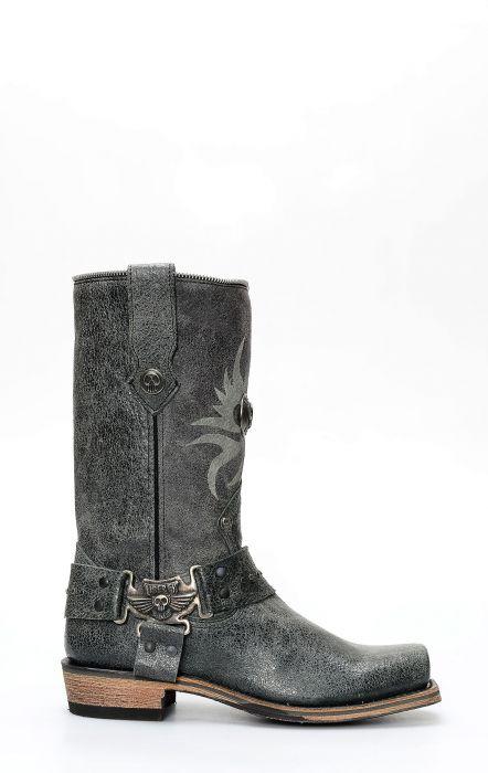 Stivali Liberty Black stile 85217 cuoio rovesciato beige