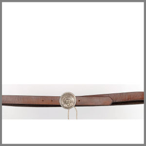 Cintura Jalisco marrone BELTPLAINAP