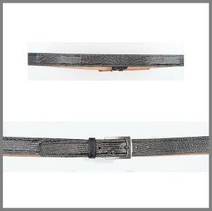 Cintura Cuadra   lucertola oil nero