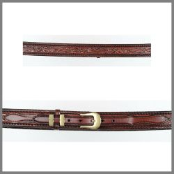 Jalisco leather-colored belt