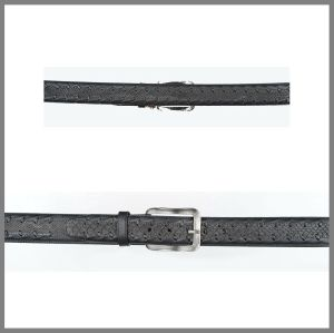 Cintura Cuadra in pitone  fango gris