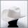 Ice colored Serratelli hat in pure 6x quality felt
