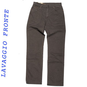 Wrangler jeans texas stretch lavaggio espresso light